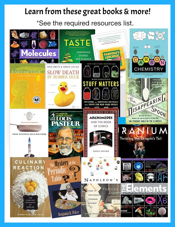 Chemistry in the Kitchen Curriculum Books