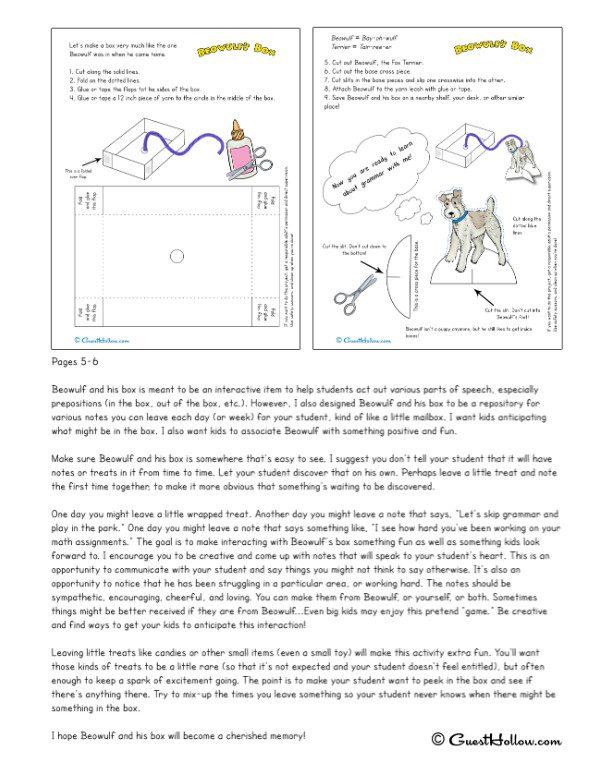 Beowulf's Grammar Teacher's Manual sample 1