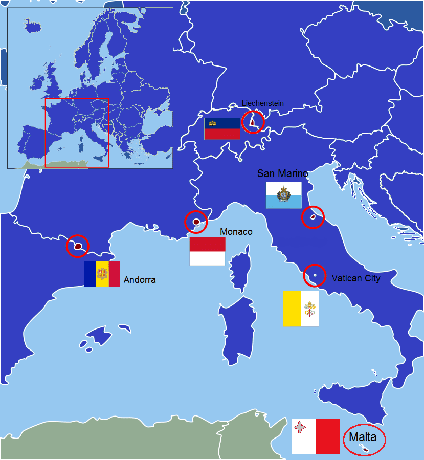 European Ministates