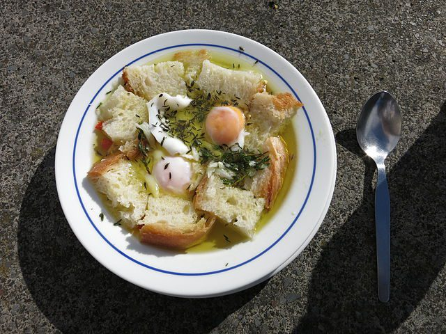 Portuguese bread soup
