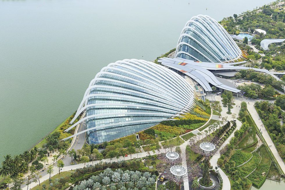 Singapore: Flower Dome and Cloud Forest in The Gardens by the Bay