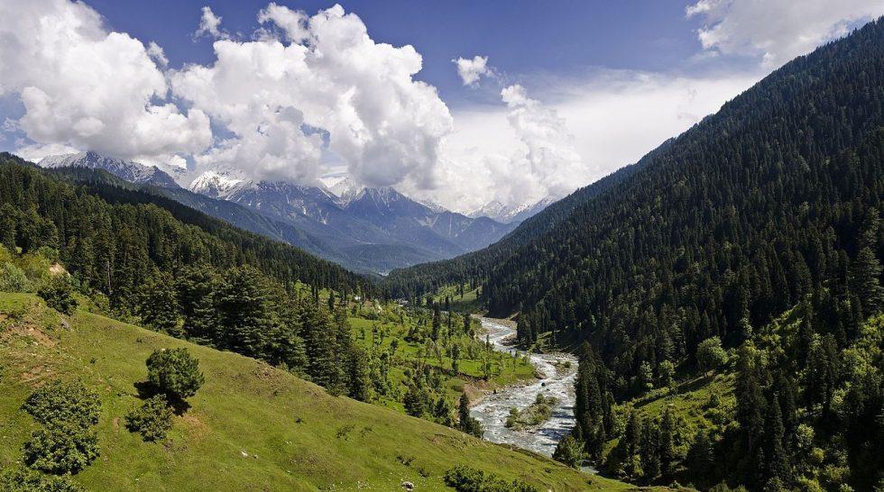 Pahalgam Valley in Kashmir