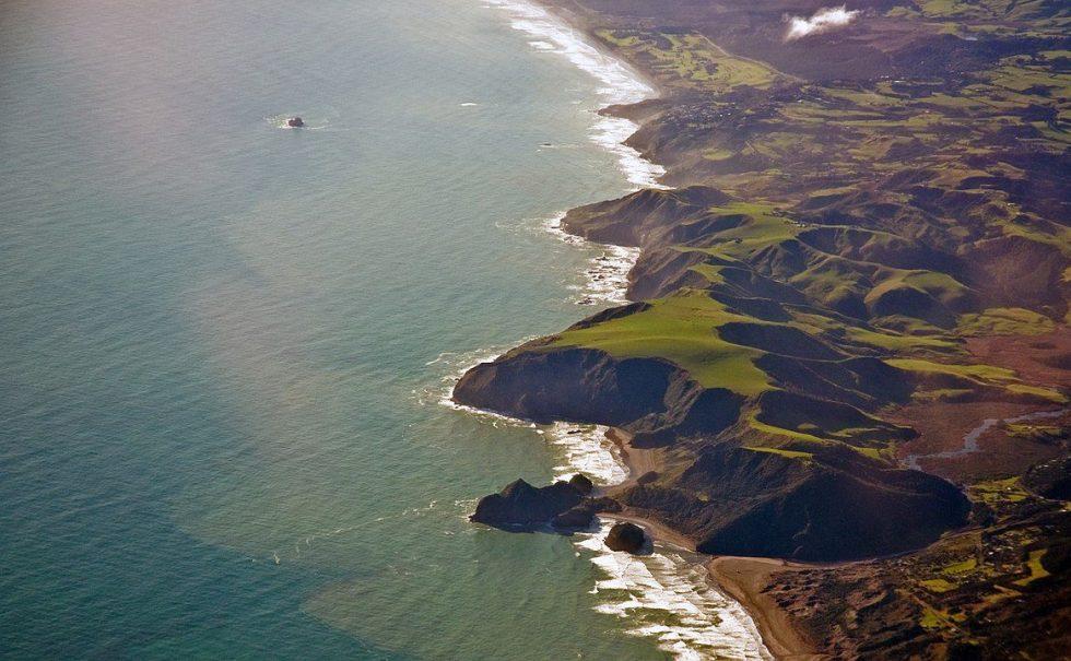 Auckland coast