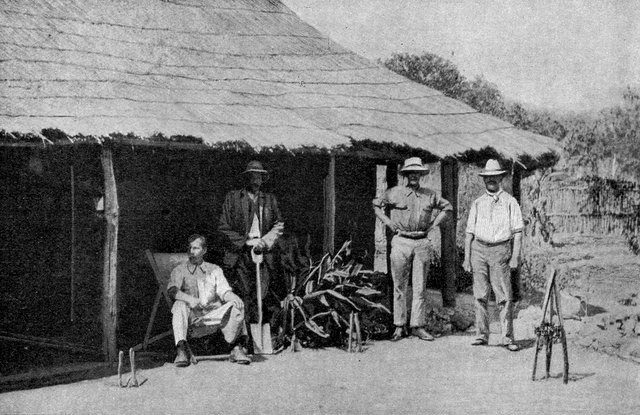 White settlers in Southern Rhodesia in the 1920's