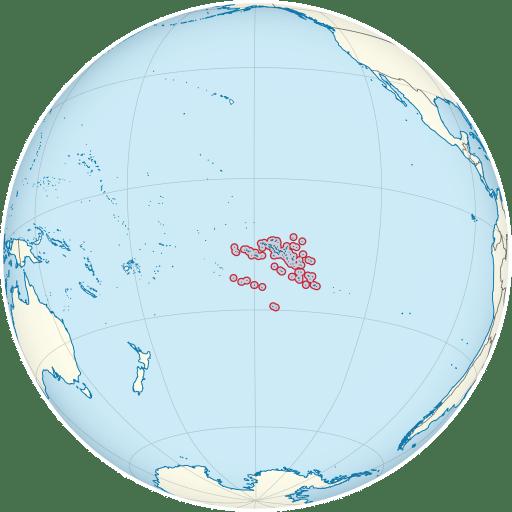 French Polynesia location