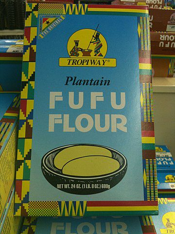 Fufu Flour is used to make a traditional African staple called 'Fufu', which is traditionally made by mashing unripe plantains or cassava or both roots into a paste, cooked and served with soup.