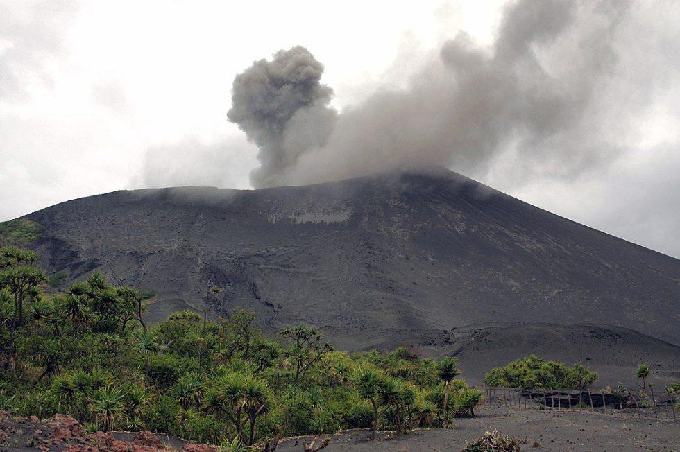 Mt. Yasur is a volcano on Tanna Island, Vanuatu.