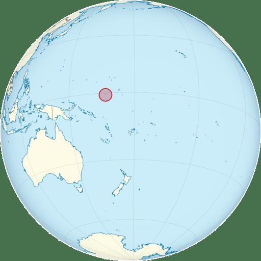 Nauru location