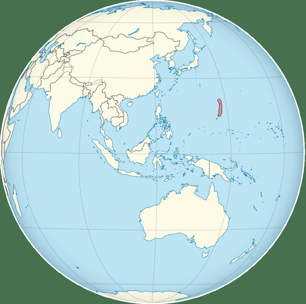 Northern Mariana Islands location