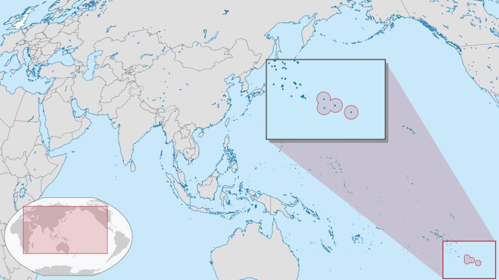 Pitcairn Islands location