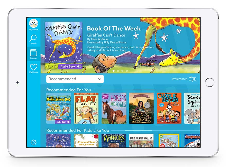 Epic digital library for kids