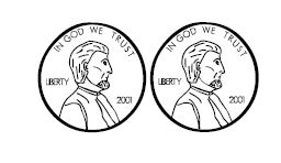 Coin clip art for worksheets