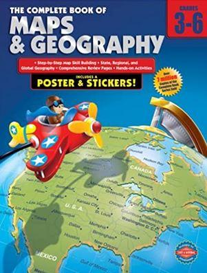 Carson Dellosa – The Complete Book of Maps & Geography for Grades 3–6