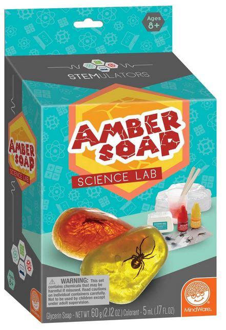 amber soap lab