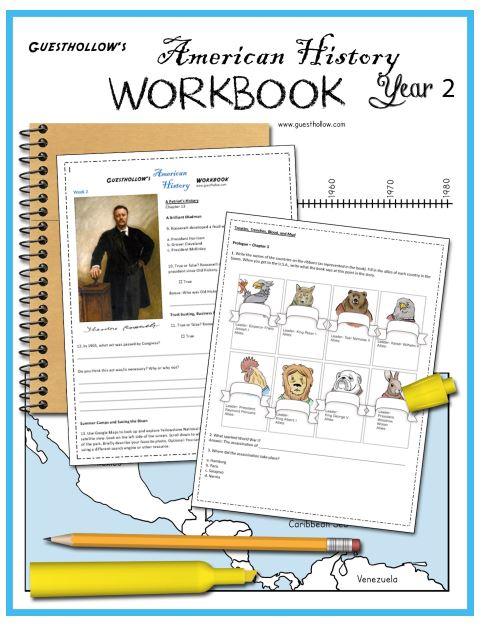 Guest Hollow's American History Year 2 Workbook