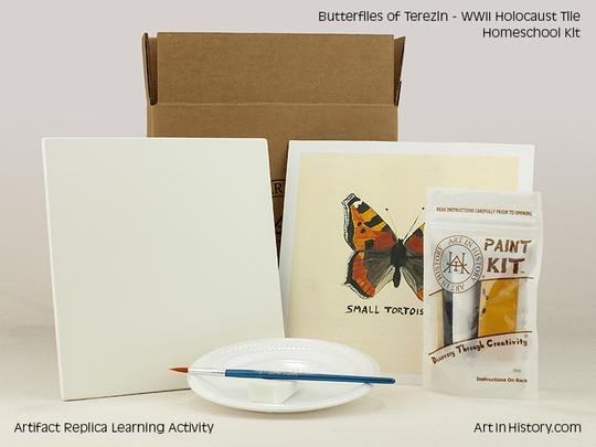 Paint Your Own Butterfly Holocaust Kit