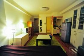 広々としたお部屋。 Spacious room (19sq.m)