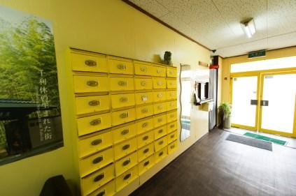各部屋専用のメールボックスがあります 각 방 전용 사서함이 있습니다 每個房間都有一個專用的郵箱。 Each room has its own mailbox