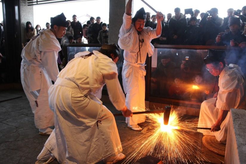 hamono matsuri seki festival de forge traditionnelle