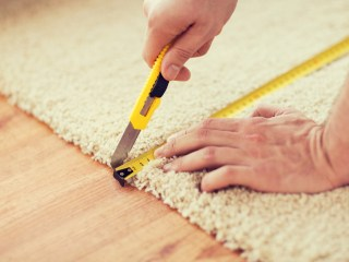 how to lay a carpet