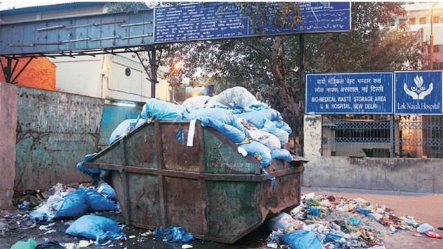 medical waste management india