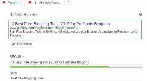 yoastSEO best blogging tool for WP Blogger