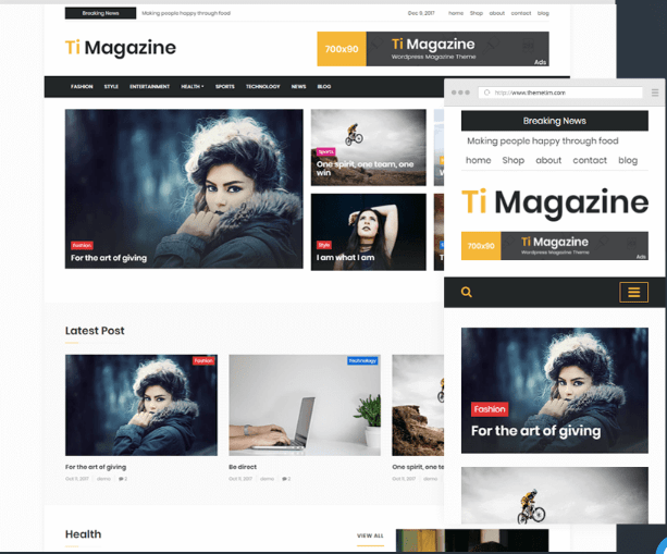 Ti Magazine WP Theme