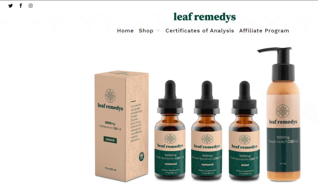 leaf remedys cbd affiliate program