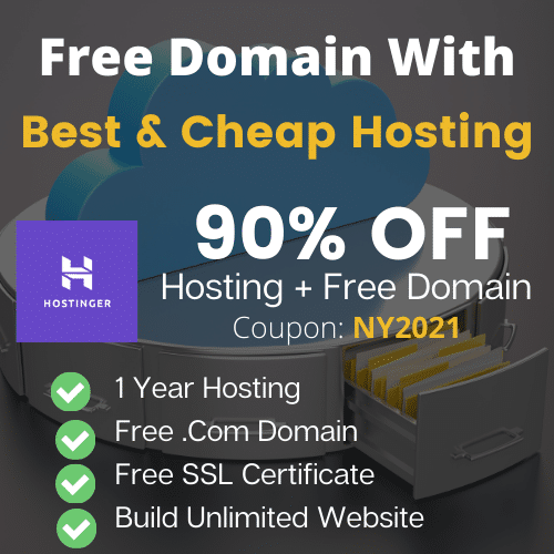 hostinger new year offer coupon code