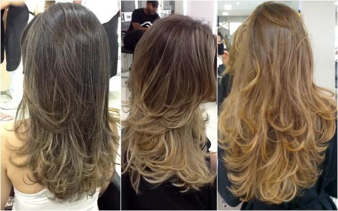 Resultado de imagem para luzes no cabelo