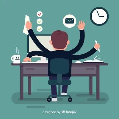 siga horários e metas no trabalho home office