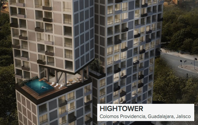 hightowere real estate in Guadalajara. Investors wanted.