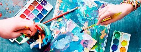 arteterapia tintas e mãos