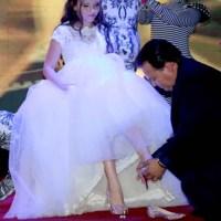 Significado da Troca do Sapato em um cerimonial de 15 anos