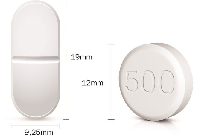 comprimidos-de-metformina-(Glifage ® XR)-mudam-de-formato