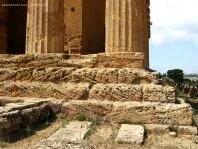 Detalhe do Templo da Concórdia