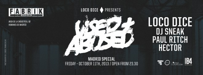 Used + Abused Madrid FB Dice