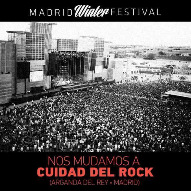 madrid winter festival cambio de lugar