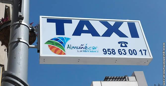 Servicios de Taxis en Almuñécar.