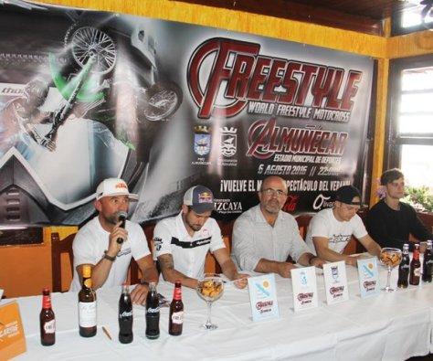 Presentación Motocross Freestyle Almuñécar 2016