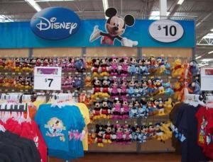 Disney en Walmart