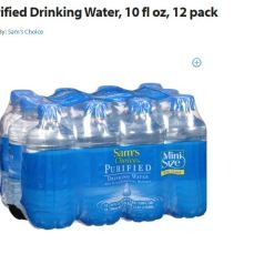water walmart