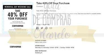Memorial Day Sales International Premium Outlets 2017_13