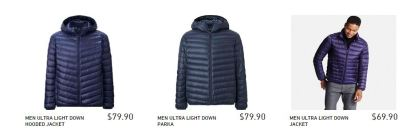 Uniqlo MEN ULTRA LIGHT DOWN JACKET1
