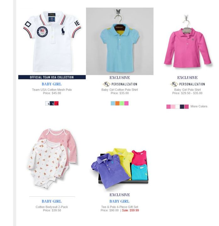 Baby Girl Polo Ralph Lauren 23