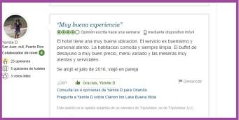 Clarion Inn Lake Buena Vista Opiniones Viajeros 3