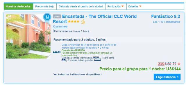 Encantada - The Official CLC World Resort  PRECIO.JPG