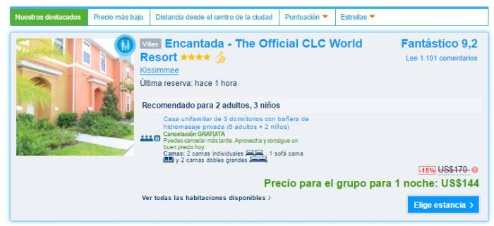Encantada - The Official CLC World Resort  PRECIO.JPG