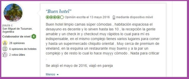 Fairfield Inn Marriot. Opiniones Viajeros 3