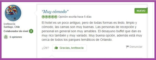 Fairfield Inn Marriot. Opiniones Viajeros